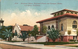 Grammar School, Episcopal Church and Carnegie Library