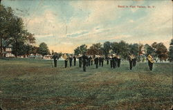 Band in Fort Totten