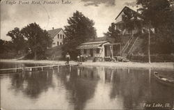 Eagle Point Rest, Pistakee Lake Postcard