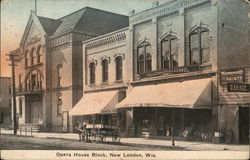 Opera House Block Postcard