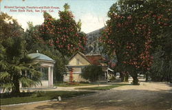 Mineral Springs Fountain and Bath House