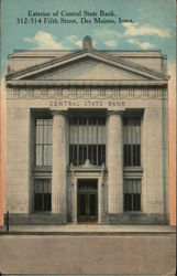 Exterior of Central State Bank, 312-314 Fifth Street