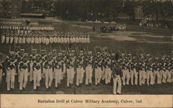 Battalion Drill at Culver Military Academy