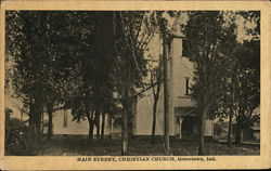 Main Street, Christian Church