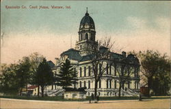 Kosciusko County Court House Postcard