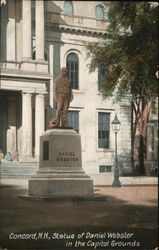 Statue of Daniel Webster - Capitol Grounds