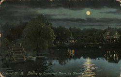 Contoocook River by Moonlight