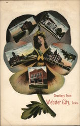 Greetings From Webster City Pansy