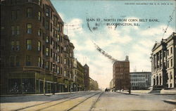 Main St., North From Corn Belt Bank