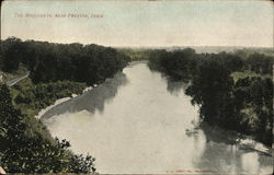 The Maquoketa Near Preston, Iowa