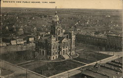 Bird's-Eye View Public Square