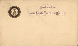 Greetings from Iowa State Teachers College Postcard