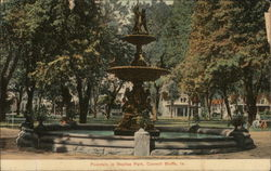 Fountain in Bayliss Park