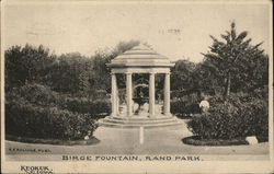 Birge Fountain in Rand Park