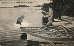 Fishing is Good at Park Rapids