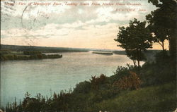 View of the Mississippi River, Looking South from Mother House Grounds