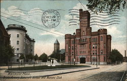 State Armory, Bancroft School and Womans Club