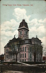 Porter County Court House Postcard