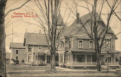 Residence of C.F. Comstock