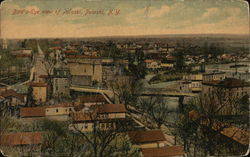 Bird's-Eye View of Pulaski Postcard