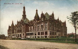 View of City Hall Postcard