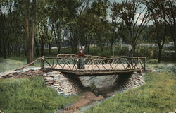 Rustic Bridge, Rock Hill Park