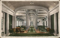 Assembly Hall of the Mount Washington, Looking From Ball Room to Banquet Hall