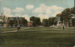 Darmouth College Campus - College Hall and Hanover Inn