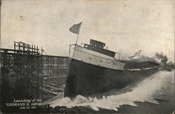 "Launching of the ""Legrand S. Degraff"", June 1st, 1907"