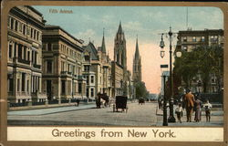 Greetings From New York's Fifth Avenue
