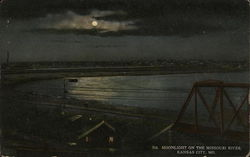 Moonlight on the Missouri River