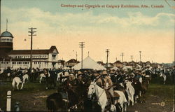 Cowboys and Cowgirls at Calgary Exhibition