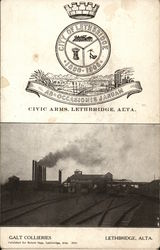 Galt Collieries and Lethbridge Civic Arms