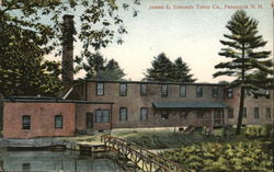 James E. Simonds Table Co. Postcard
