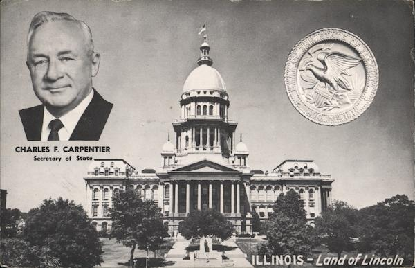 Illinois State Capitol - Charles F. Carpenter Springfield
