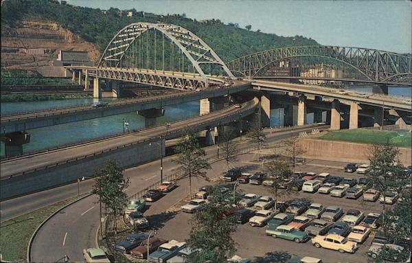 Fort Pitt Tunnel and Bridge Pittsburgh Pennsylvania