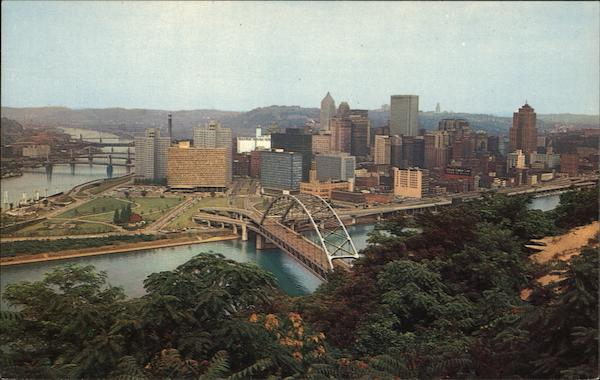 Golden Triangle from Mt. Washington Pittsburgh Pennsylvania