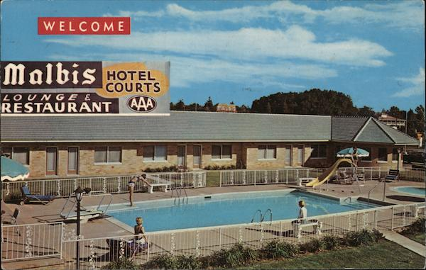 Malbis Hotel Courts Mobile Alabama