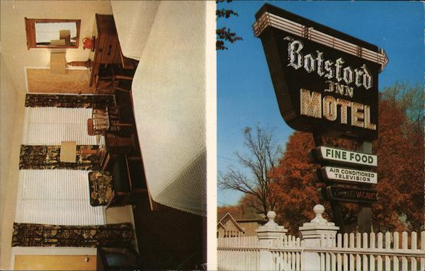 Botsford Inn Motel Farmington Michigan