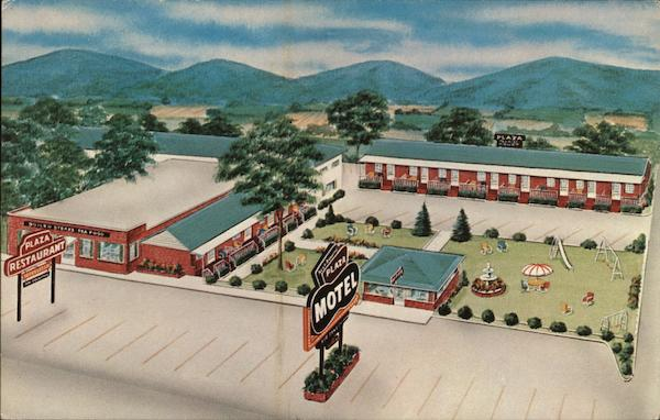 Plaza Motor Court and Restaurant Roanoke Virginia
