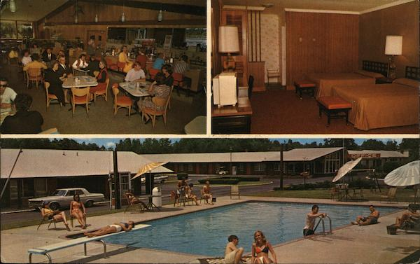Quality Courts Motel Coral & Restaurant Rocky Mount North Carolina