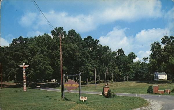 Broken Arrow Camp Grounds - Entrance Winamac Indiana