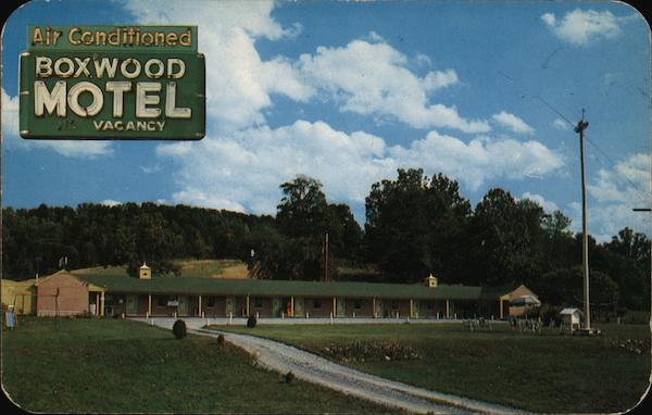 Boxwood Motel Roanoke Virginia