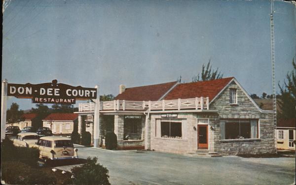 Don Dee Court and Restaurant New Market Virginia