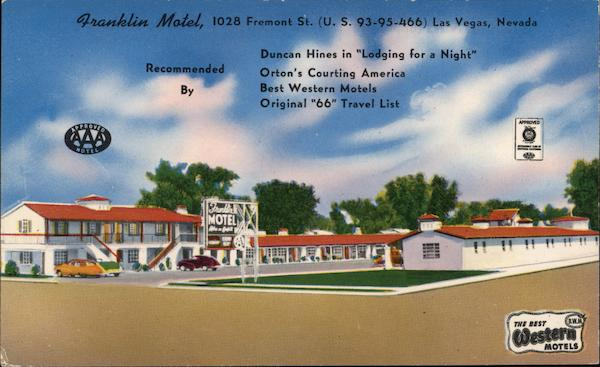 Franklin Motel Las Vegas Nevada