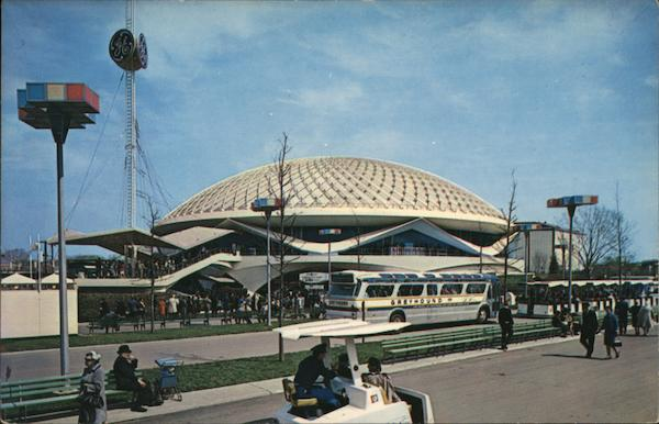 The General Electric Pavilion 1964 NY Worlds Fair