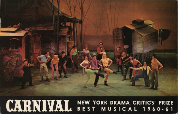 Carnival, Best Busical 1960-61 New York News Coloroto Magazine