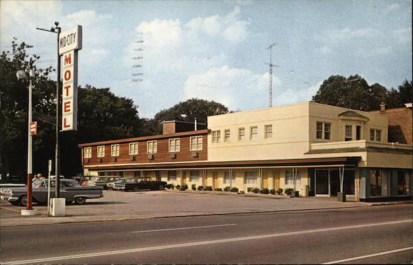 Acker's Mid-City Motel and Restaurant Wheeling West Virginia
