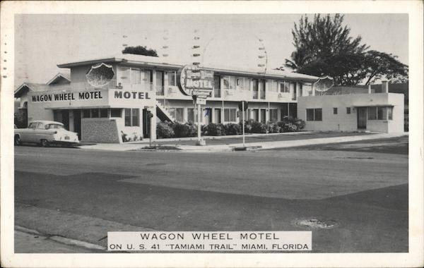 Wagon Wheel Motel, On U.S. 41 Tamiami Trail Florida