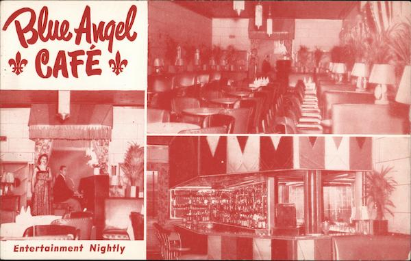 Blue Angel Cafe Montreal Canada Quebec